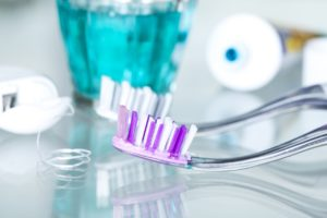 Your dentist in Coatesville recommends using a soft bristled toothbrush.